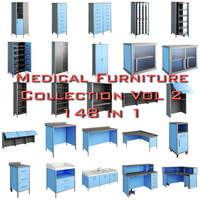 3d model medical furniture vol2