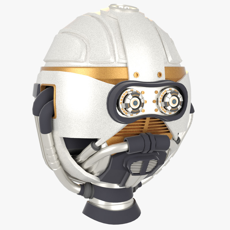 3d model r13-m2 head -