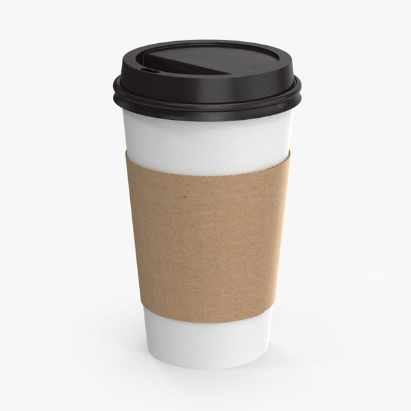 to-go cup lid 3d max