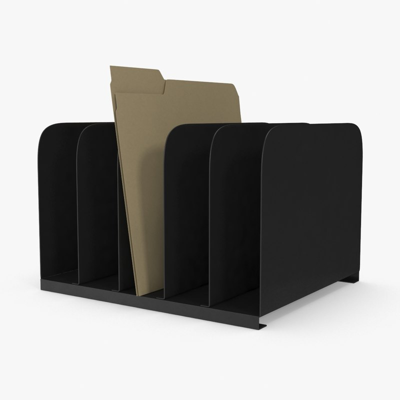 file-holder-01 3d model