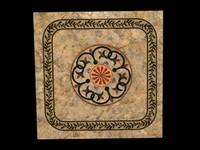 Roman marble floor deco