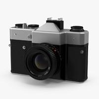3d slr camera model