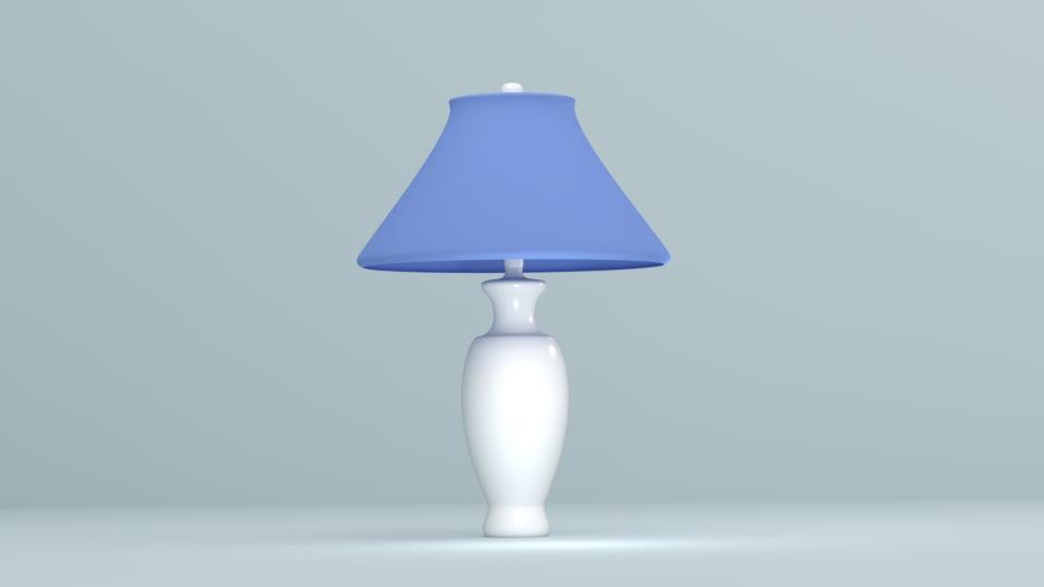bedside lamp 3d 3ds