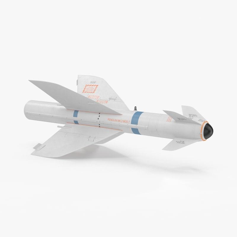 aircraft missile agm 119b max