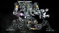 robot mc 3d model