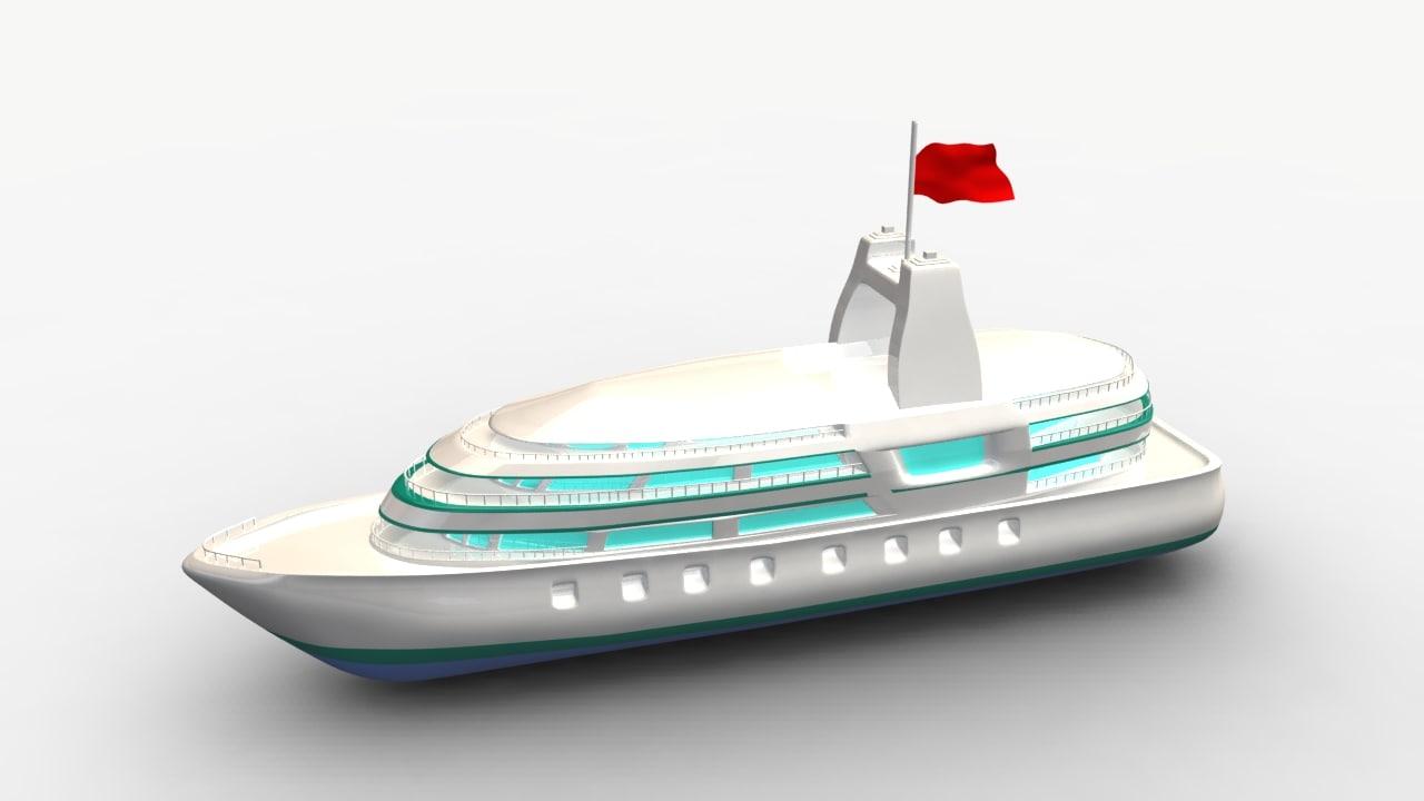 ma cartoon ship