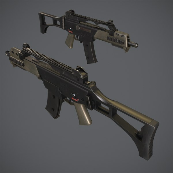 3d g36c assault rifle g3
