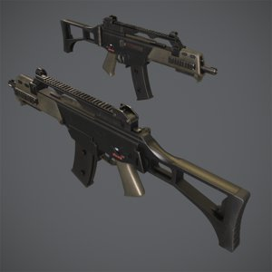 3d g36c assault rifle g3