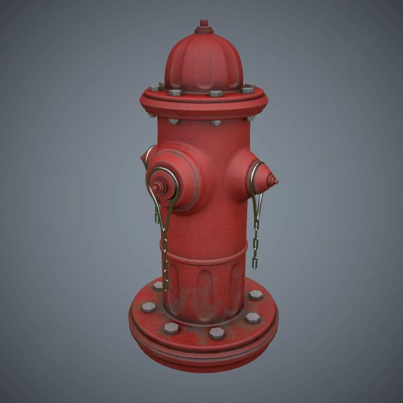 obj hydrant pbr games