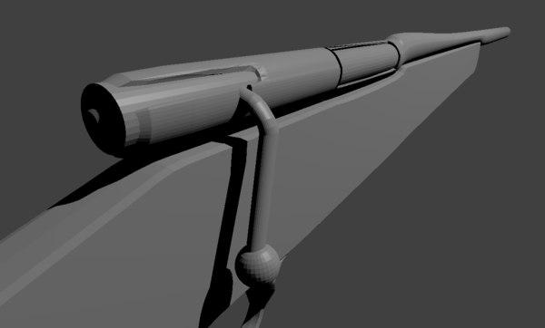 gun winchester 70 sniper rifle blend