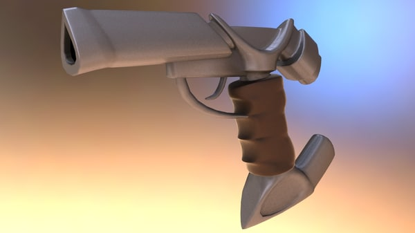 max sci-fi space plasma gun
