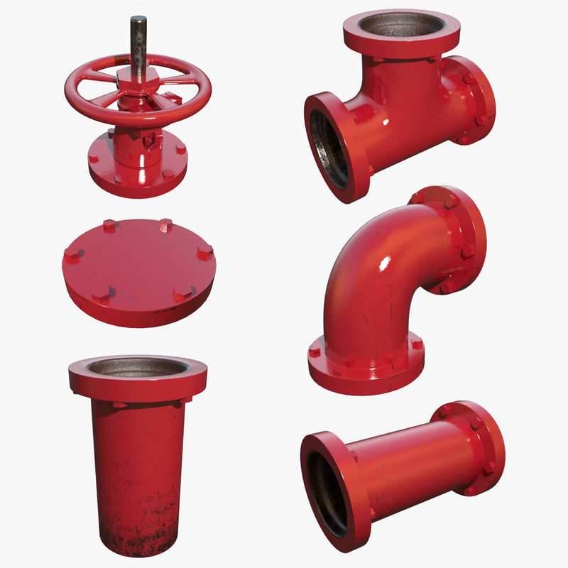 3d painted pipe