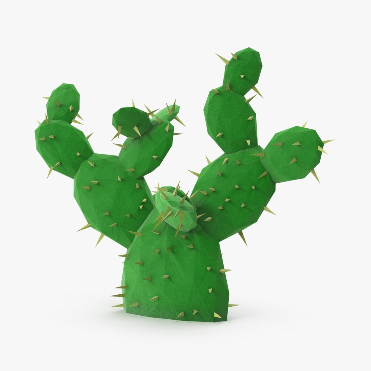 desert plant cactus 01 max