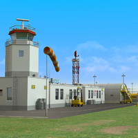 civilian military airport 3d lwo