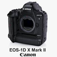 3d model canon eos-1d x mark