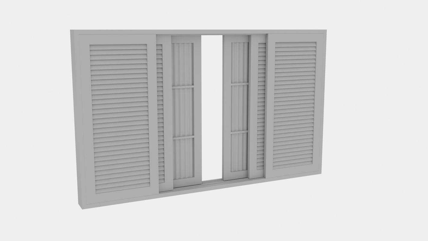 janela 3d model