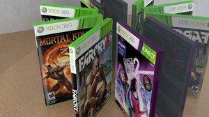 3d model set xbox360 games