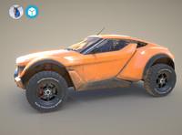 3d model zarooq sand racer