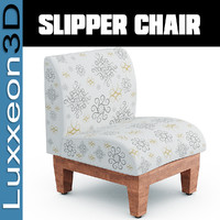 slipper chairs 3d model