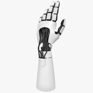 3d robot hand model