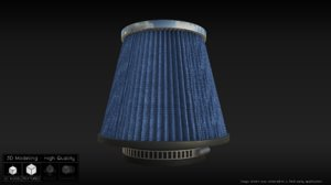 3d cone filter