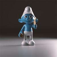 3d poet smurfs