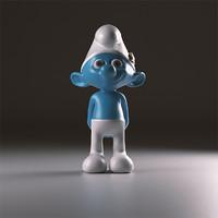 3d model smurfs