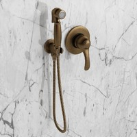bronze hand shower cezares 3d max