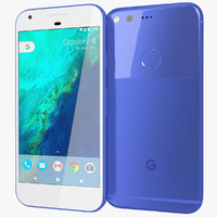 realistic google pixel really 3d model