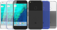3d model realistic google pixel colors