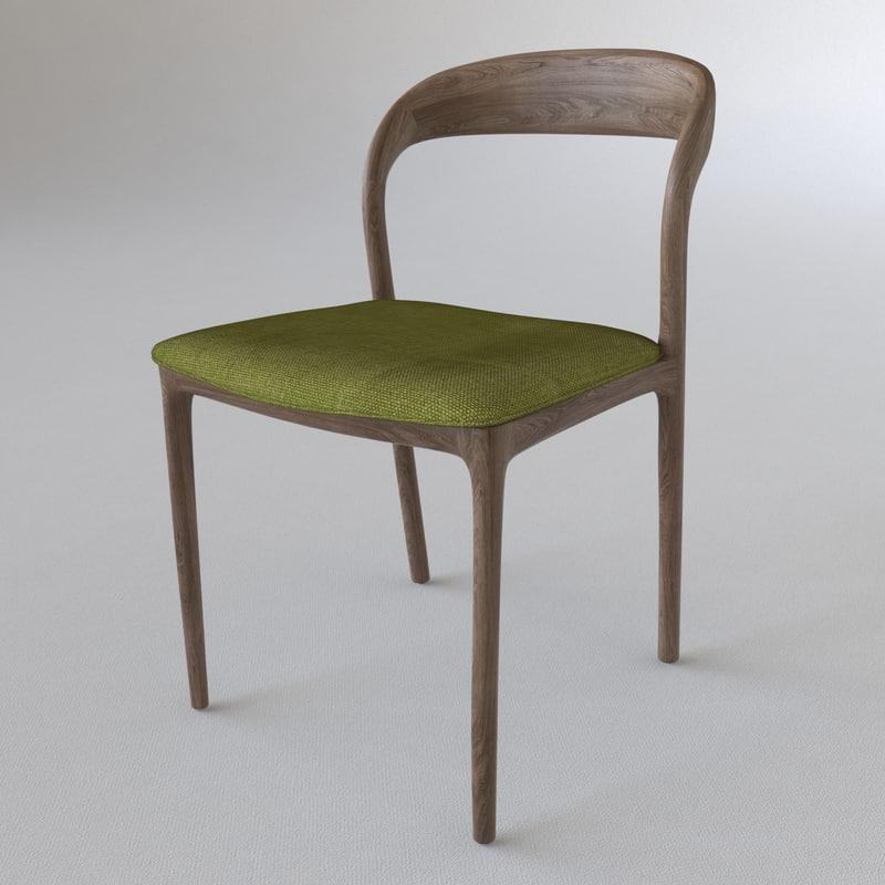 3d neva chair model