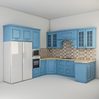 kitchen set 3ds