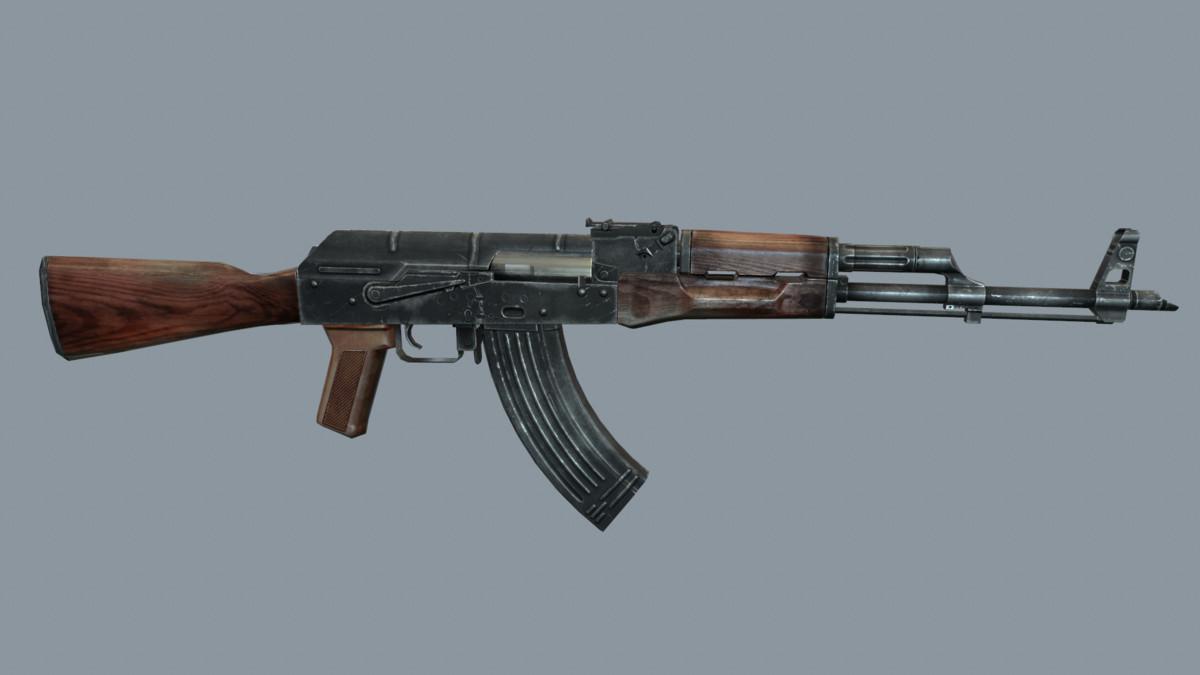 rifle akm ready 3ds free