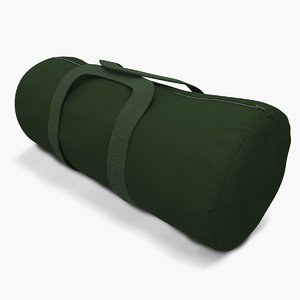 3d model of military luggage