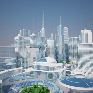 futuristic mega city max