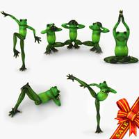 frogs statuette max