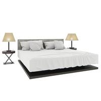 3d bed armani casa model