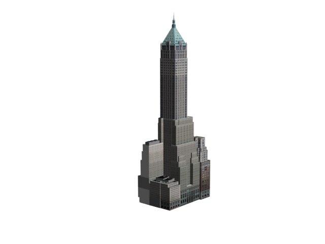 3d trump 40 wall model