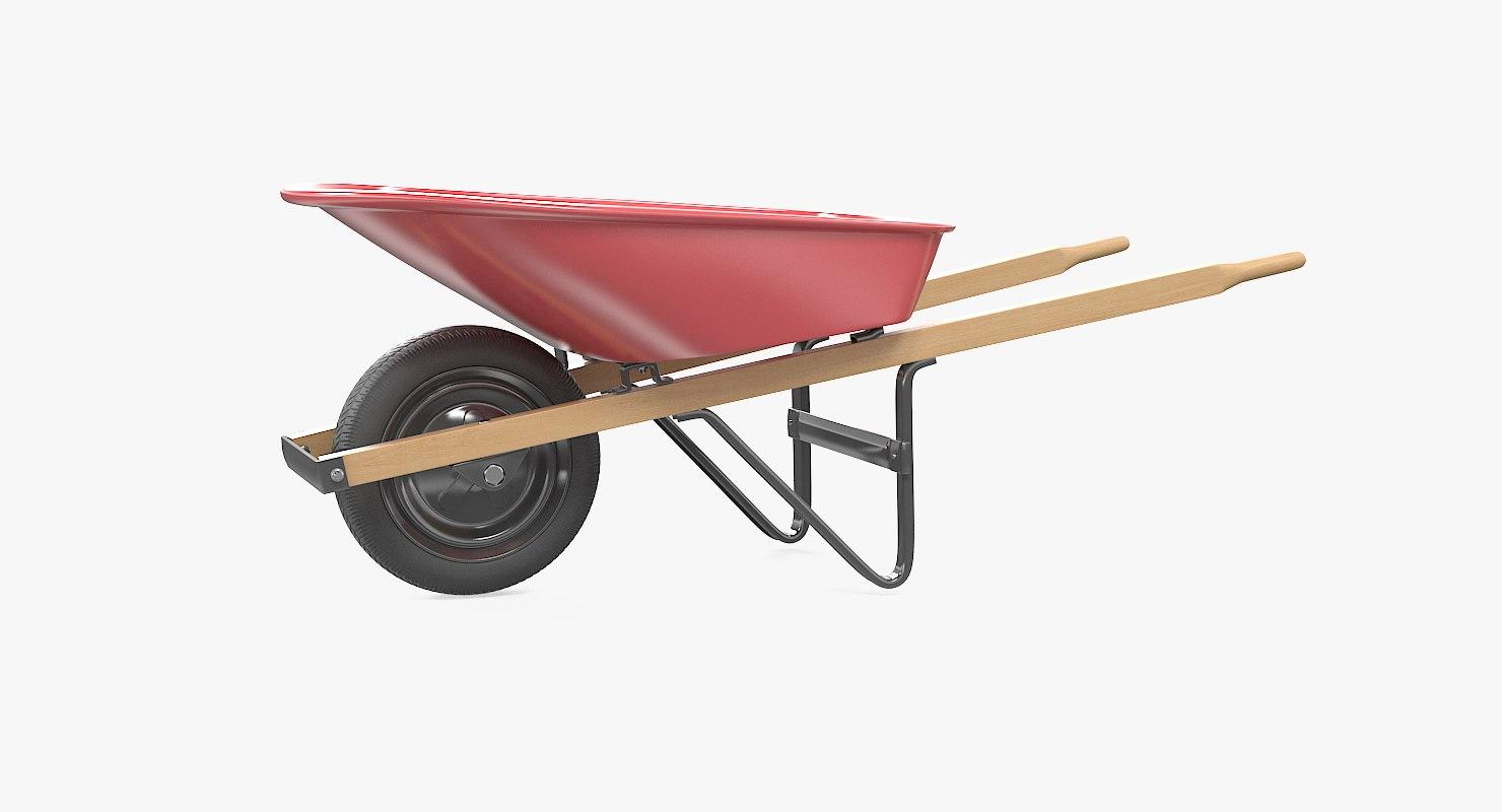 3d model wheelbarrow build industry
