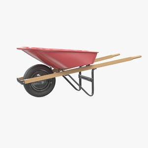 3d model wheelbarrow build industry