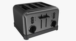 slice toaster 3d model