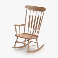 natural rocking chair max