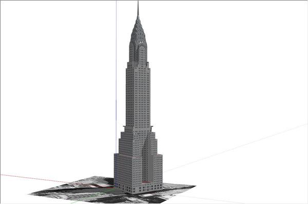 dwg chrysler building