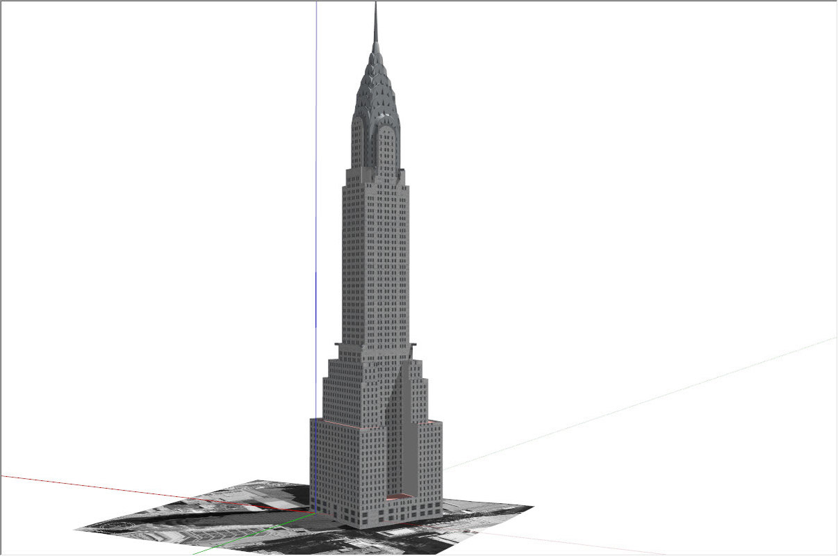 dwg chrysler building