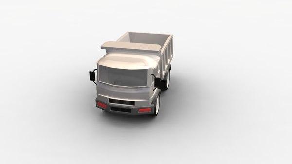 cartoon truck car 3d ma