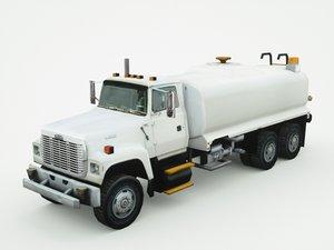 freightliner fl-60 2000 3d max
