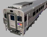 NJ Transit Alstom Comet V Train