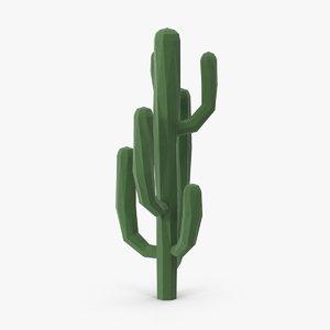 3d saguaro cactus 03 model