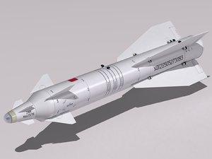 3d kh-29 missile model