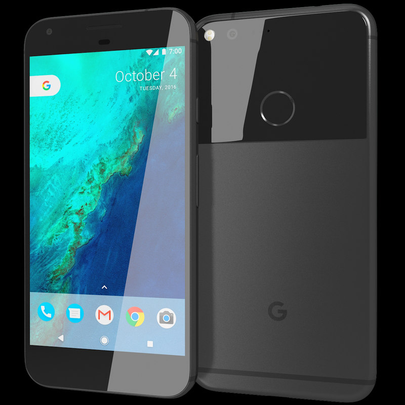 3d model realistic google pixel xl
